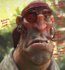pedro anatomy analysis